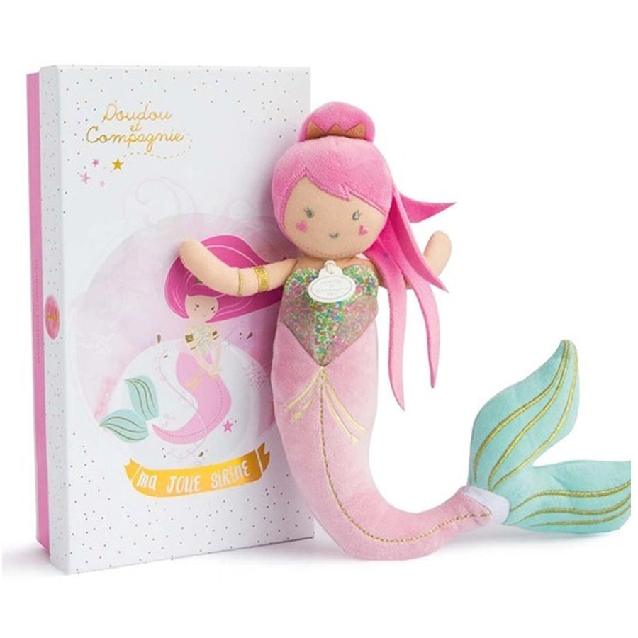 Miss Mermaid Soft Doll-Doudou Et Compagnie-Joanna's Cuties