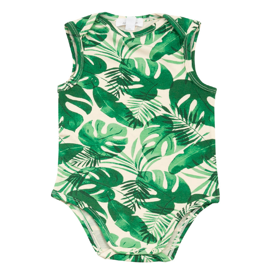 Monstera Deliciosa Uni Bodysuit-Angel Dear-Joanna's Cuties