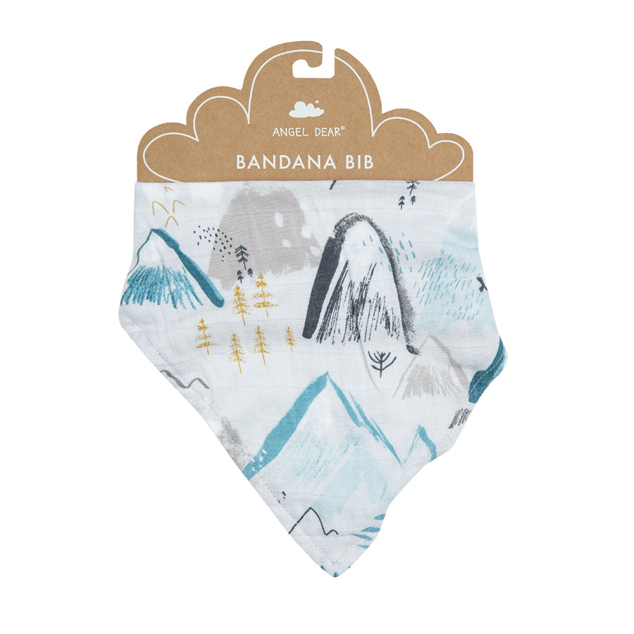 Mountains Bandana Bib-Angel Dear-Joanna's Cuties