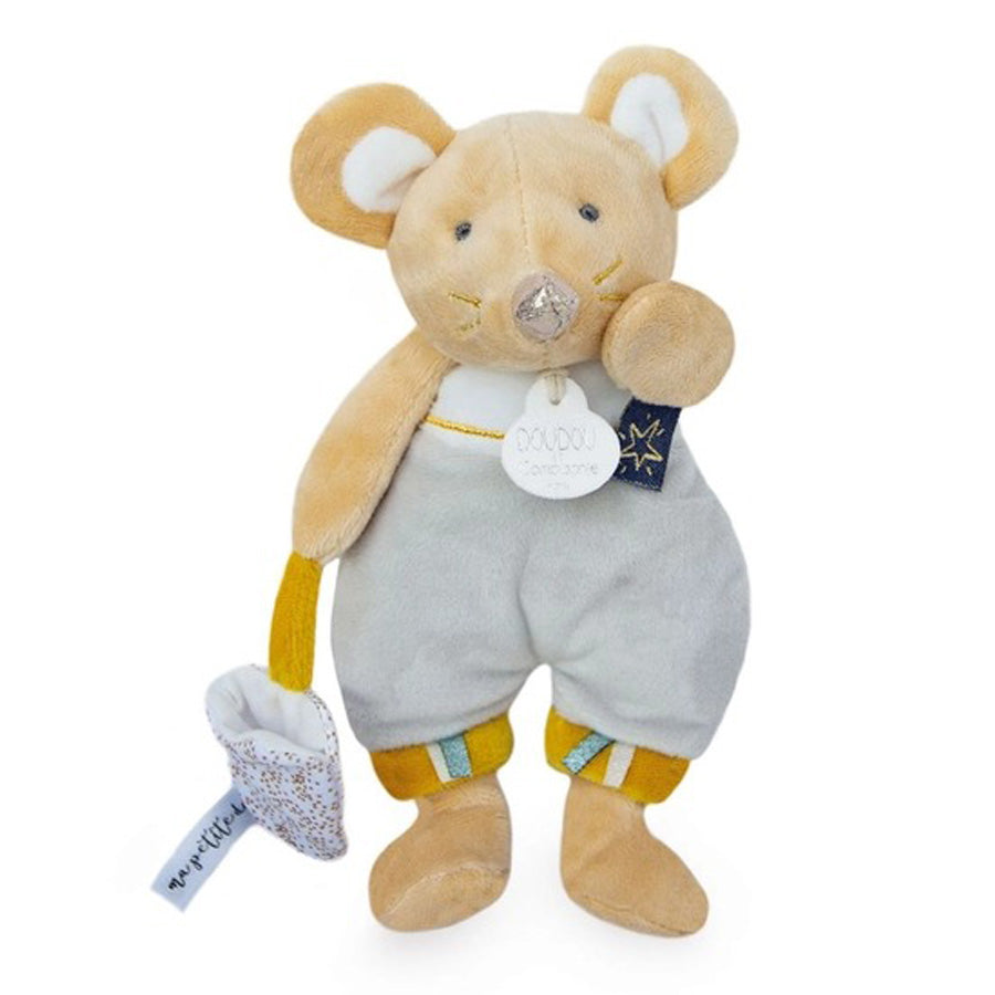 Mouse Plush Stuffed Animal-Doudou Et Compagnie-Joanna's Cuties