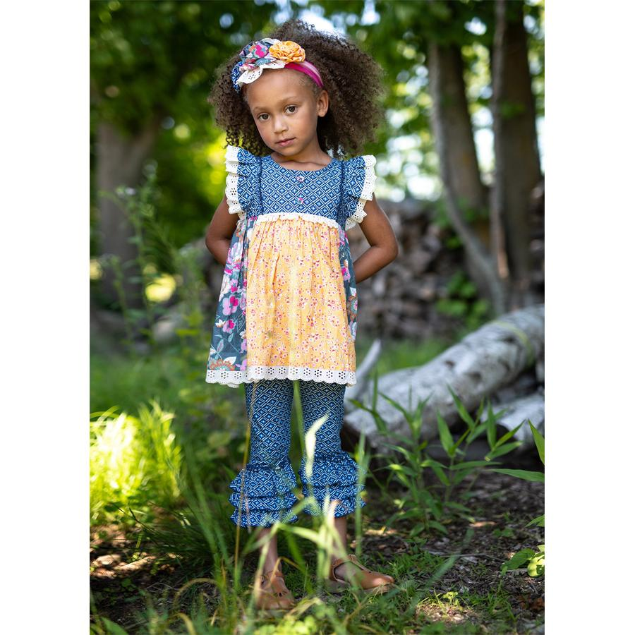 Mustard Pie Summer Glen Scarlett Set - Mustard Pie - joannas-cuties