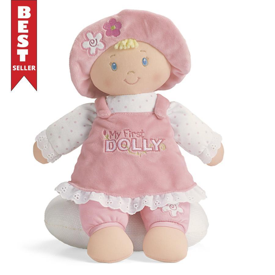 "My First Dolly Blonde, 13"" - Gund - joannas-cuties"