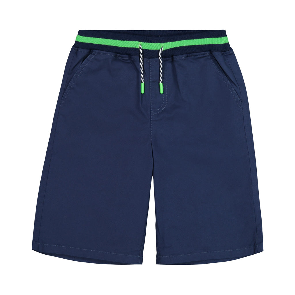 Navy Jogger Shorts - Andy & Evan - joannas-cuties