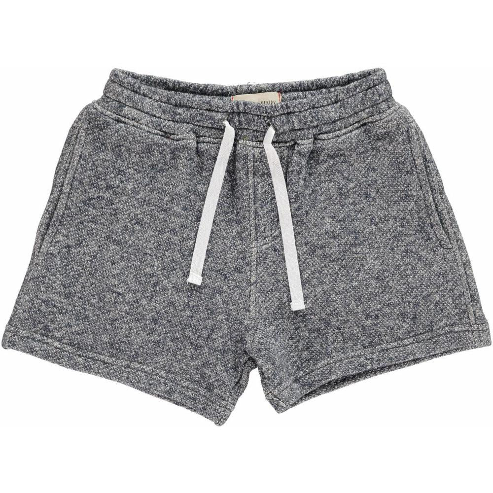 Navy Sweat Shorts - Me + Henry - joannas-cuties