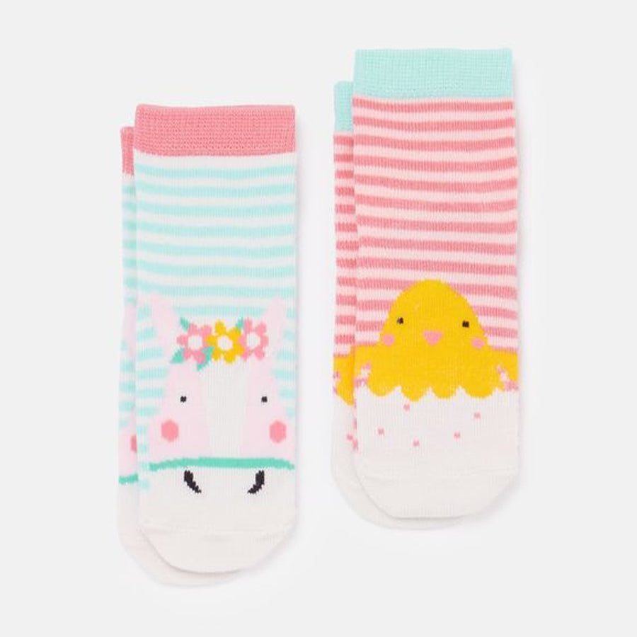 Character Baby Socks -2 Pack-Joules-Joanna's Cuties