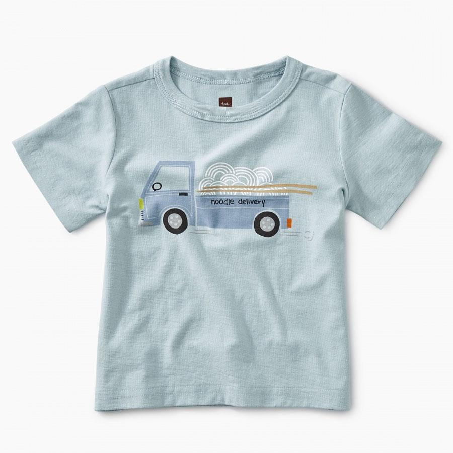 Noodle Truck Baby Graphic Tee-Tea-joannas_cuties
