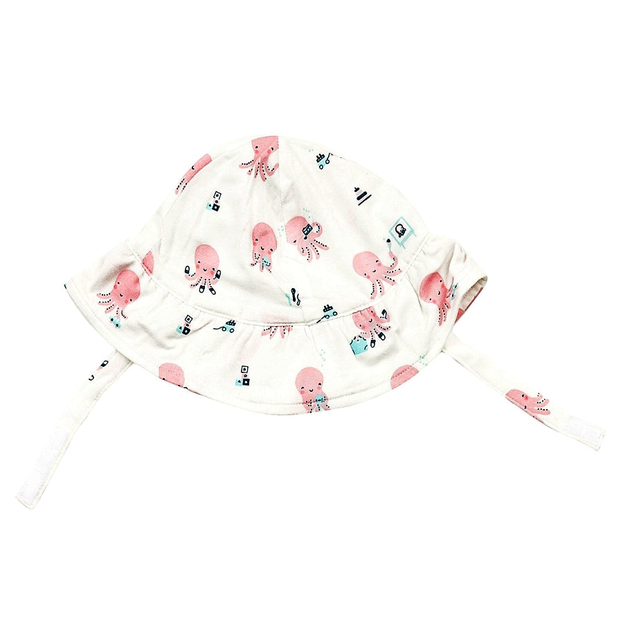 Octopus Playtime Ruffle Sunhat-Angel Dear-Joanna's Cuties