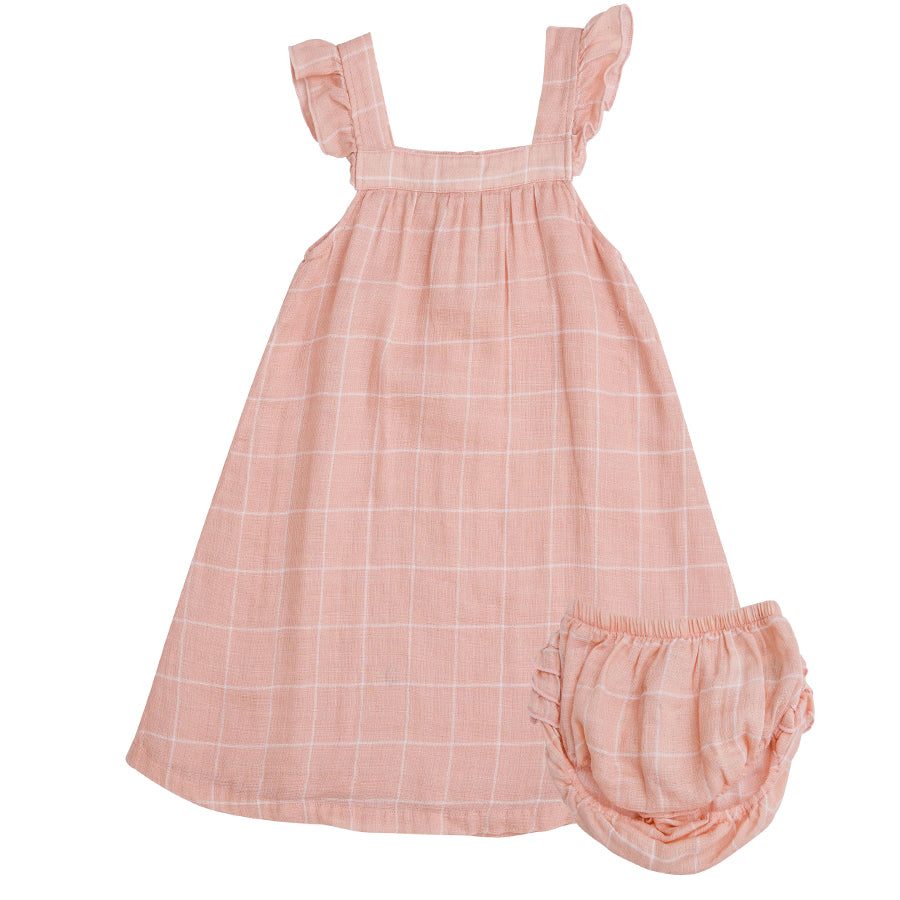 Off The Grid Sundress With Diaper Cover