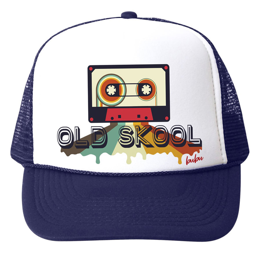 Old Skool Cassette Tape Hat-Bubu-Joanna's Cuties