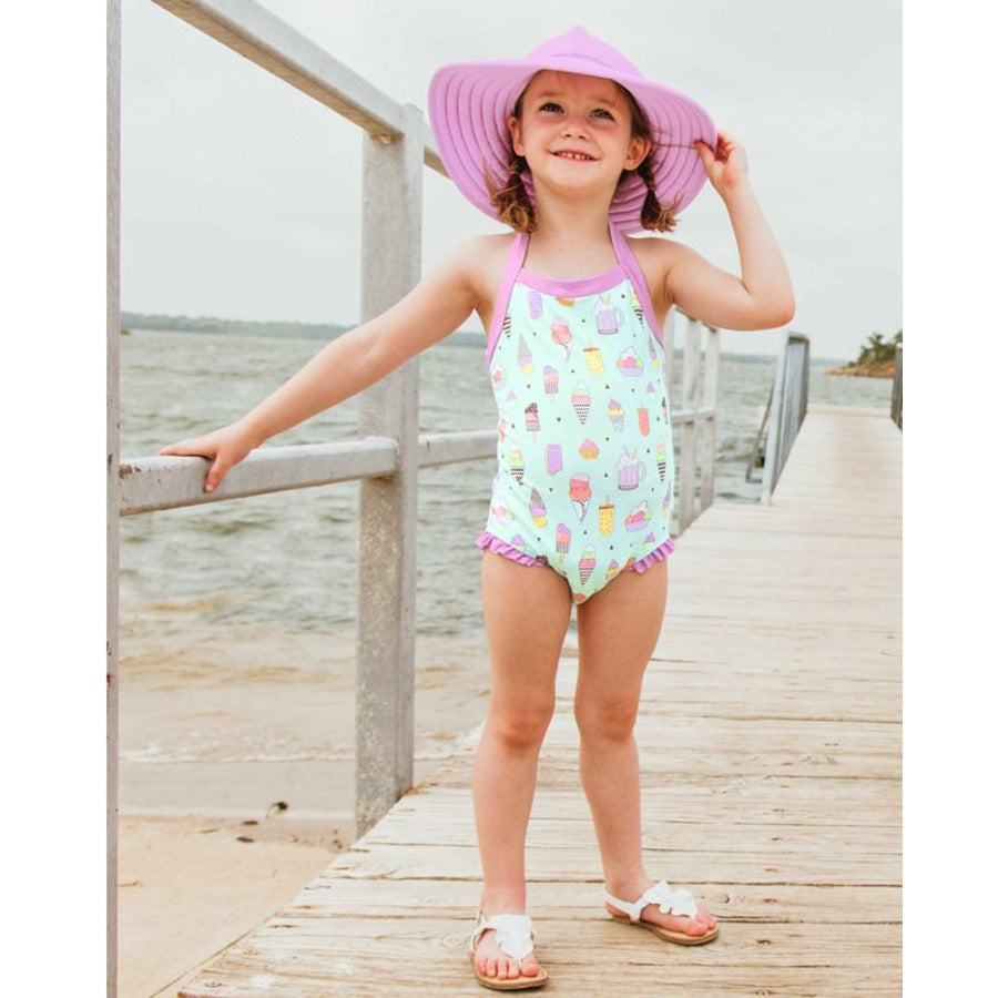 Anything is Possible Halter One Piece-Ruffle Butts-Joanna's Cuties