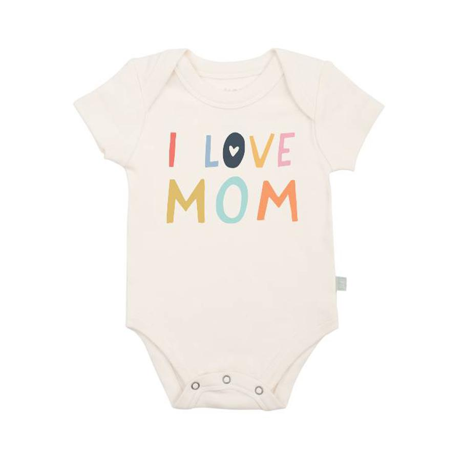 Onesie - I love Mom, Finn + Emma - Joanna's Cuties