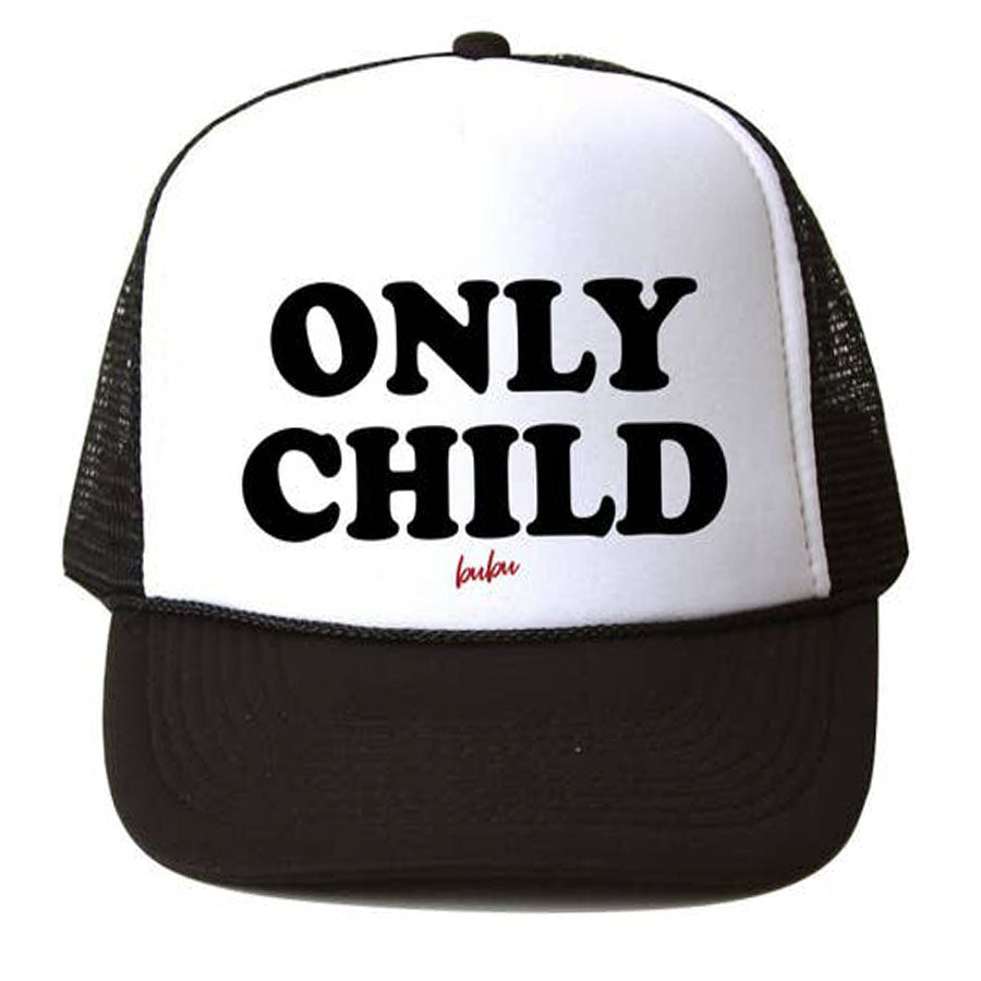 Only Child Trucker Hat-Bubu-Joanna's Cuties