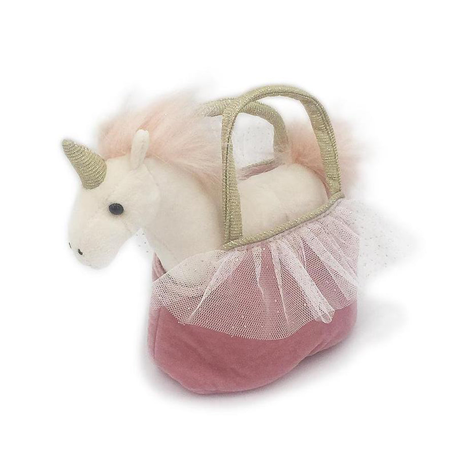 'Ophelia' Unicorn Plush Doll & Toy Purse-Mon Ami-Joanna's Cuties