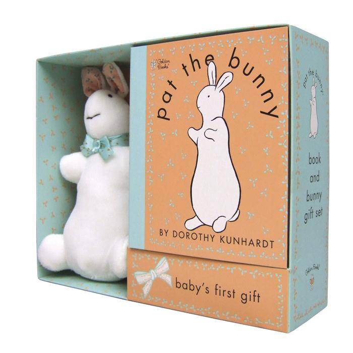 Pat the Bunny Book & Plush (Touch-and-Feel)-Penquin Random House-Joanna's Cuties