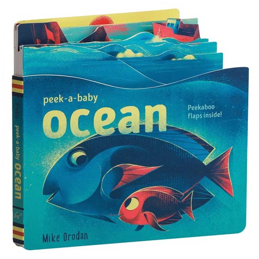 Peek-a-Baby - Ocean-Chronicle Books-Joanna's Cuties