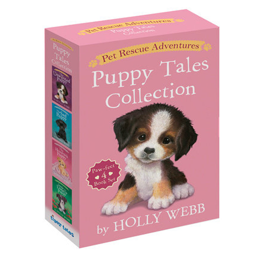 Pet Rescue Adventures Puppy Tales Collection: Paw-fect 4 Book Set-Penquin Random House-Joanna's Cuties