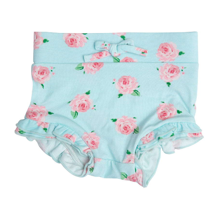 Petite Rose High Waist Shorts-Angel Dear-Joanna's Cuties