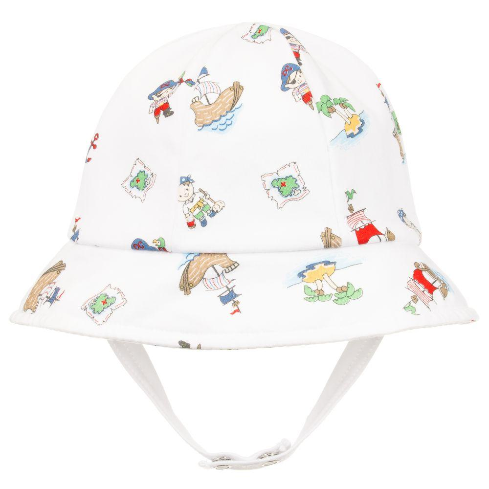 Pima Cotton Baby Hat - Kissy Kissy - joannas-cuties