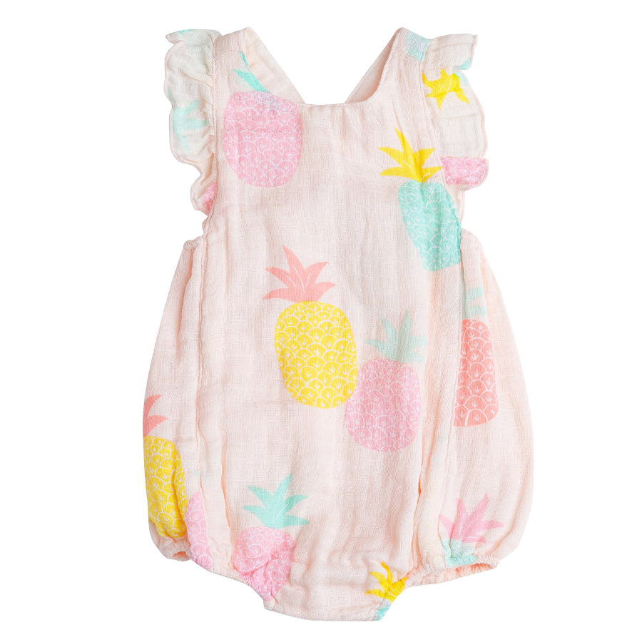 Pineapples Sunsuit-Angel Dear-Joanna's Cuties