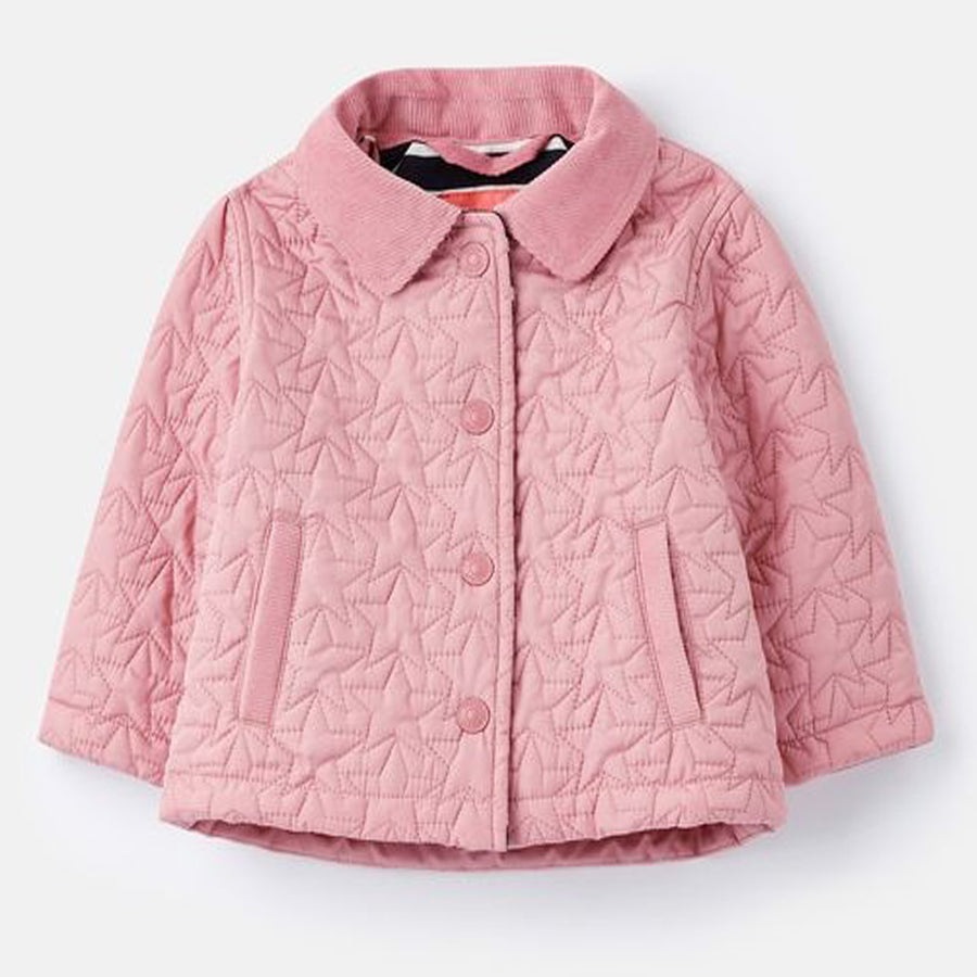 Mabel Star Quilted Coat-Joules-Joanna's Cuties