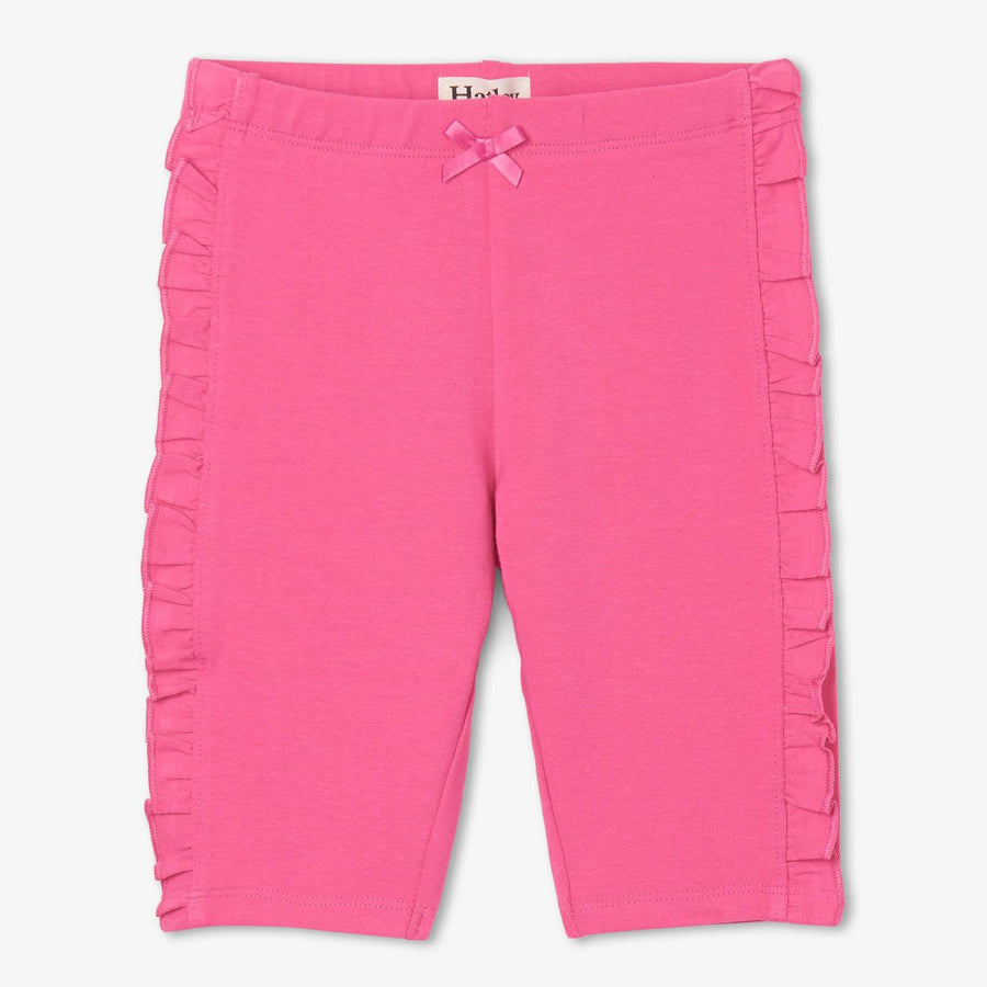 Pink Ruffle Bike Shorts-Hatley-Joanna's Cuties