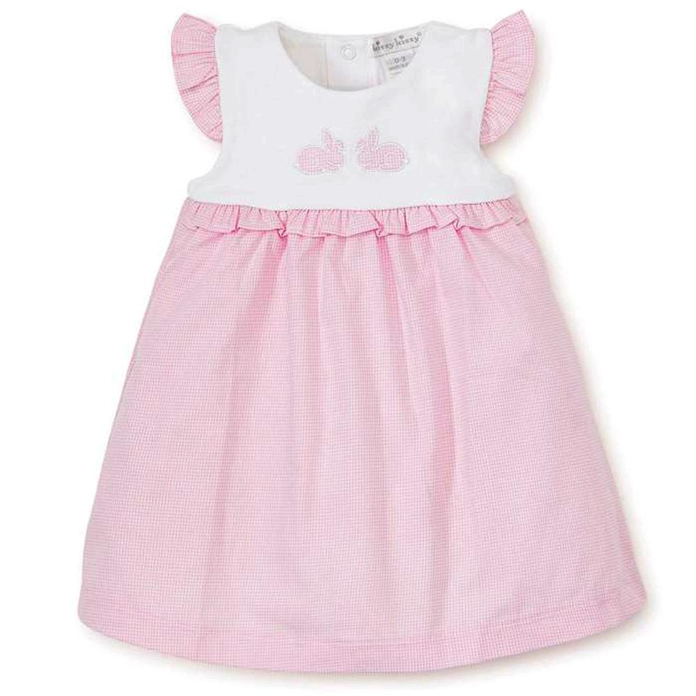 Pique Bunny Hop- Dress & Diaper Cover Set - Kissy Kissy - joannas-cuties