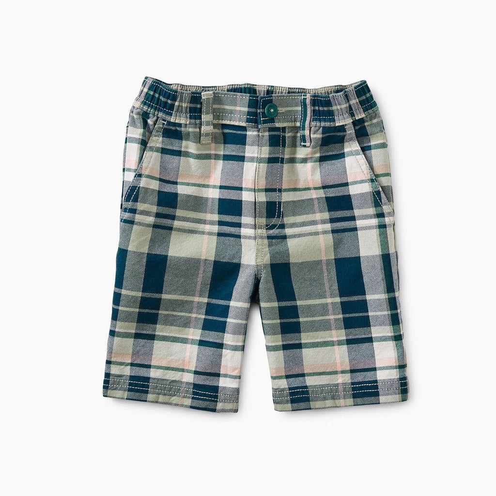 Plaid Travel Short-Tea-joannas_cuties
