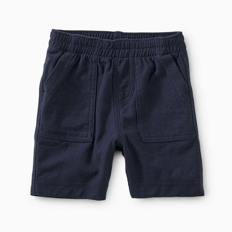 Playwear Baby Shorts - Navy-Tea-joannas_cuties