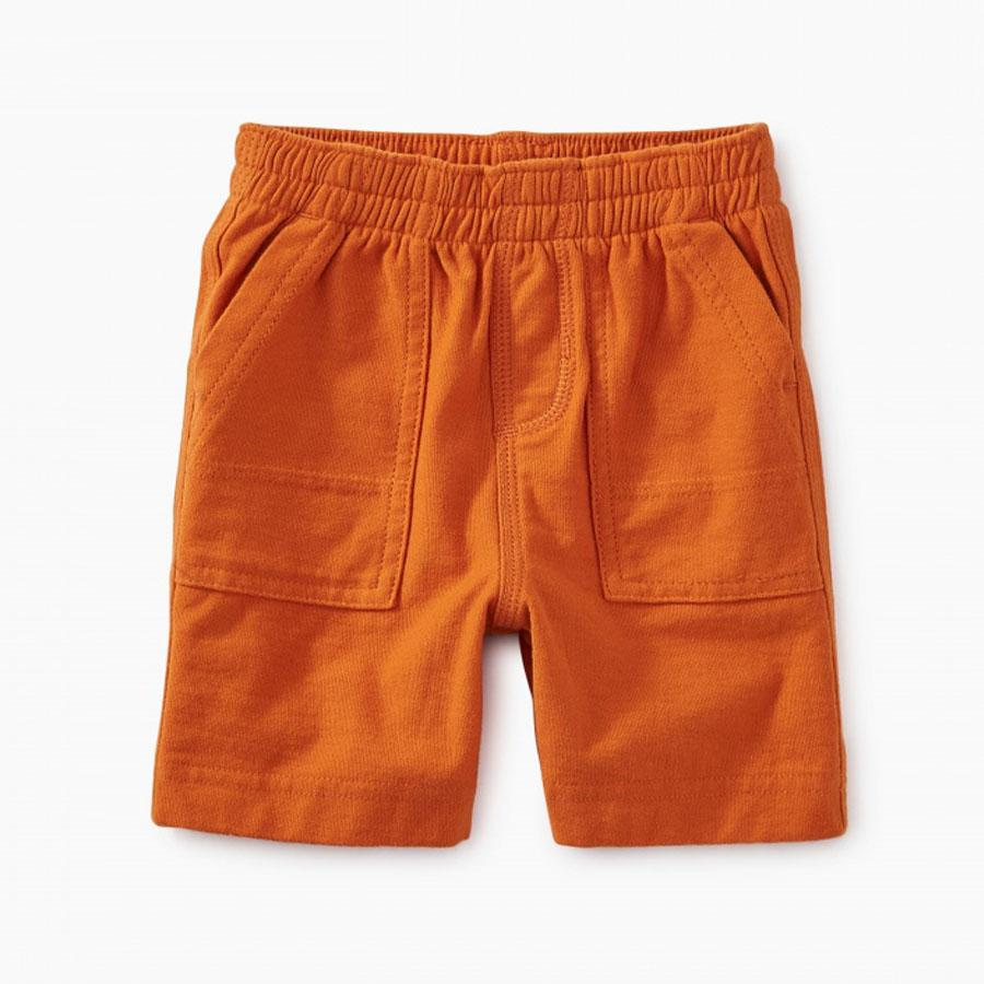 Playwear Baby Shorts - Papaya - Tea - joannas-cuties