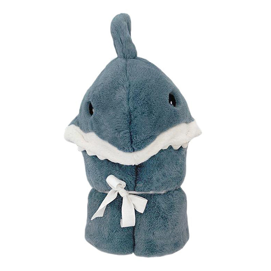 'Seaborn' Plush Shark Hooded Blanket-Mon Ami-Joanna's Cuties