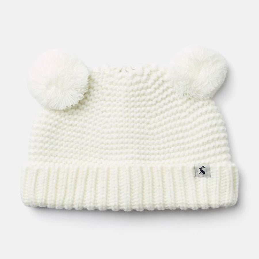 Pom Pom Kintted Hat - Joules - joannas-cuties