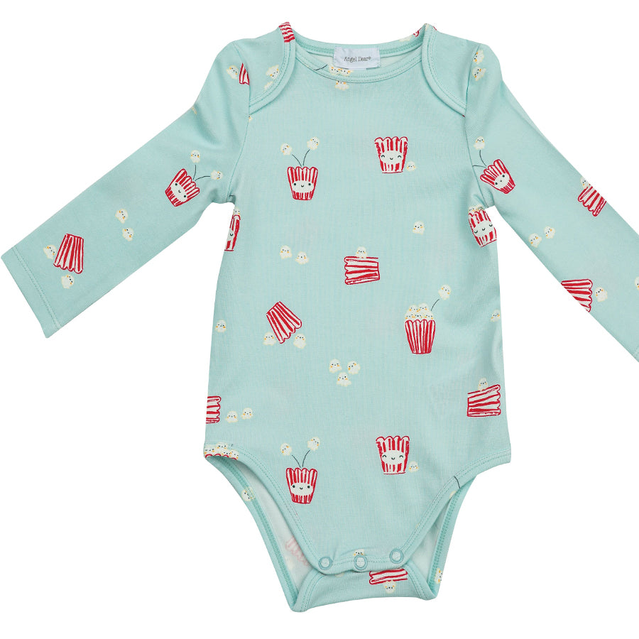 Popcorn Lap Shoulder Bodysuit-Angel Dear-Joanna's Cuties