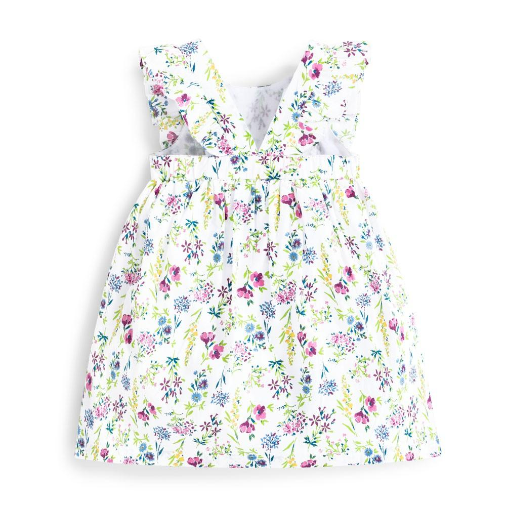 Pretty Floral Summer Dress - JoJo Maman Bebe - joannas-cuties