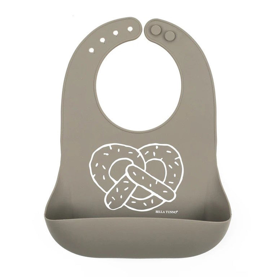 Pretzel Cart Wonder Bib-Bella Tunno-Joanna's Cuties