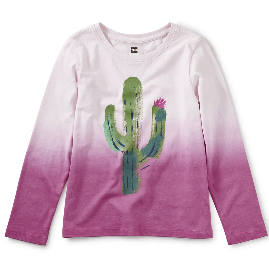 Prickly Dip-Dye Graphic Tee-Tea-Joanna's Cuties
