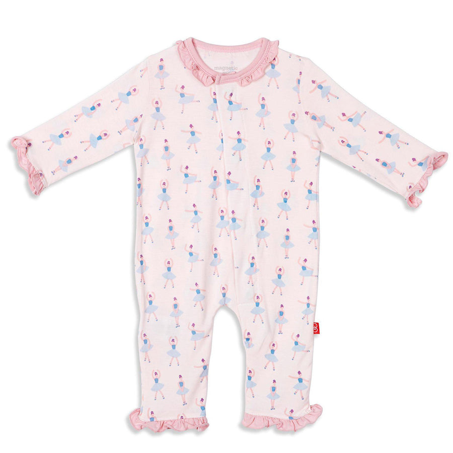 Prima Ballerina Modal Magnetic Coverall-Magnetic Me-joannas_cuties