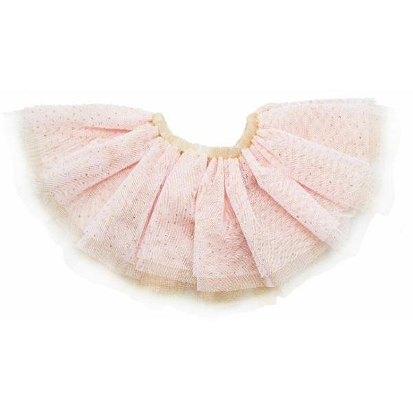 Glinda Prima Skirt - Light Pink/Gold - Gold - Oh Baby - joannas-cuties