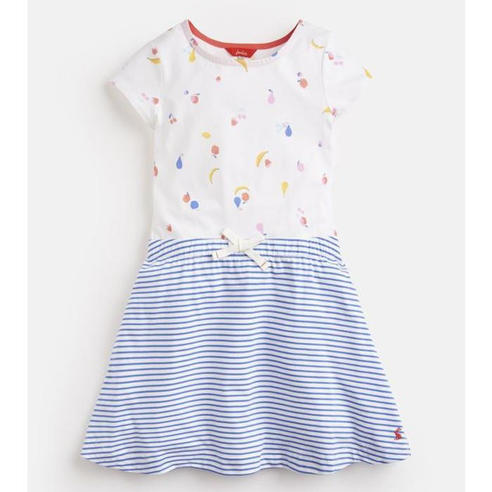 Print Mix Dress - Joules - joannas-cuties