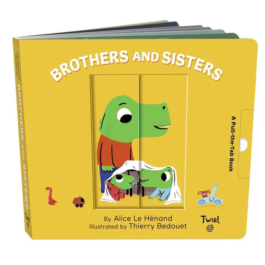 Pull and Play Books: Brothers and Sisters-Chronicle Books-Joanna's Cuties