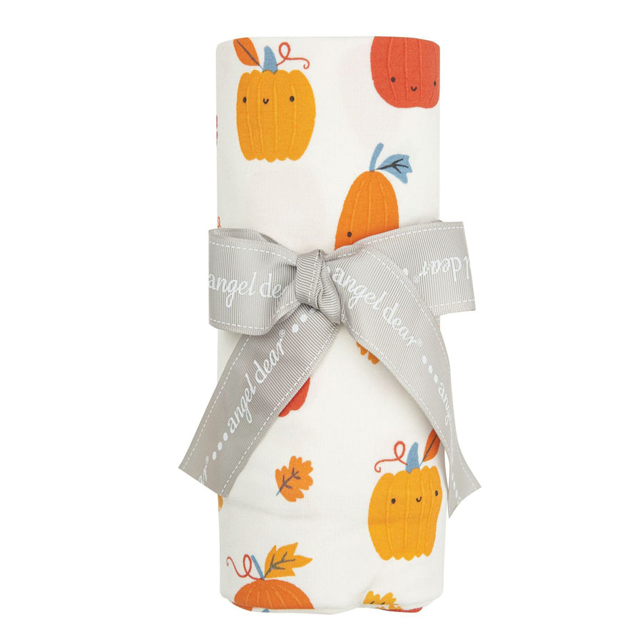 Pumpkin Patch Swaddle Blanket-Angel Dear-Joanna's Cuties