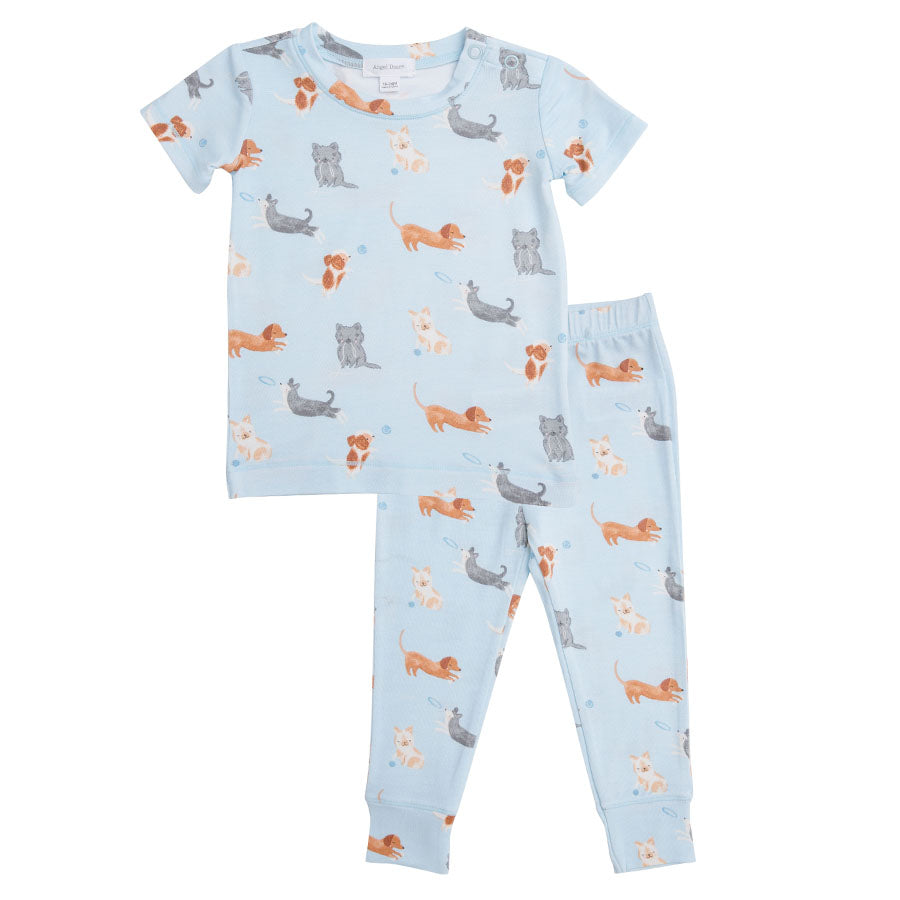 Puppy Play Lounge Wear Set - Blue-Angel Dear-Joanna's Cuties
