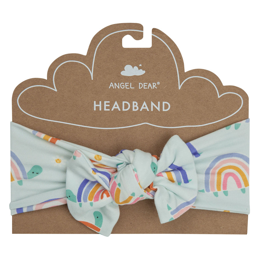 Rainbow Turtles Headband-Angel Dear-Joanna's Cuties