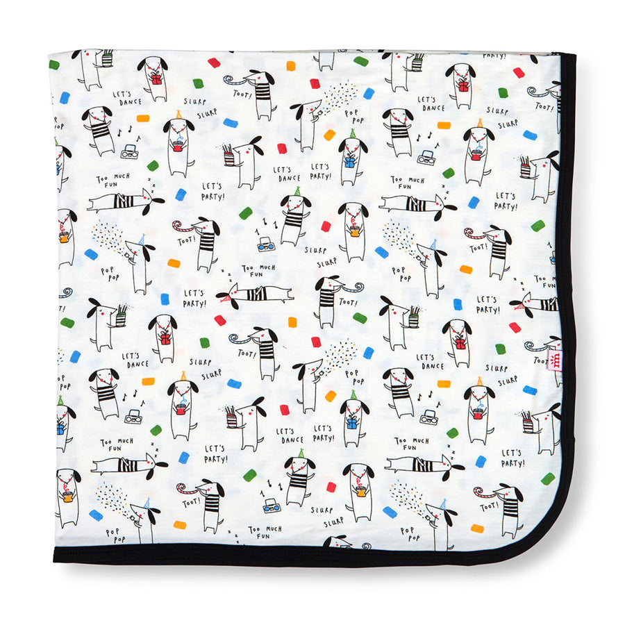 Raise The Woof Modal Swaddle Blanket-Magnetic Me-Joanna's Cuties