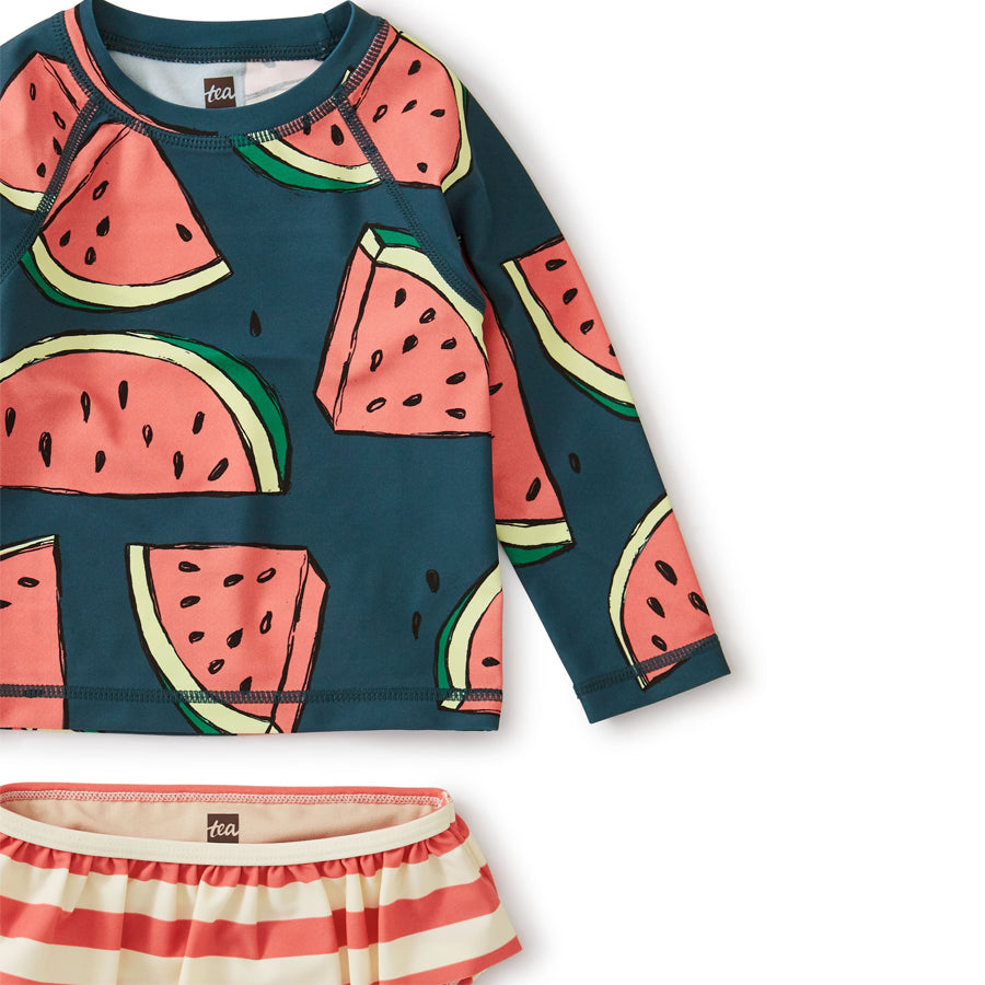 Rash Guard Set Watermelons-Tea-Joanna's Cuties