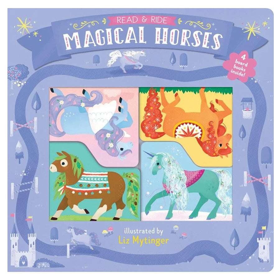 Read & Ride - Magical Horses-Chronicle Books-Joanna's Cuties