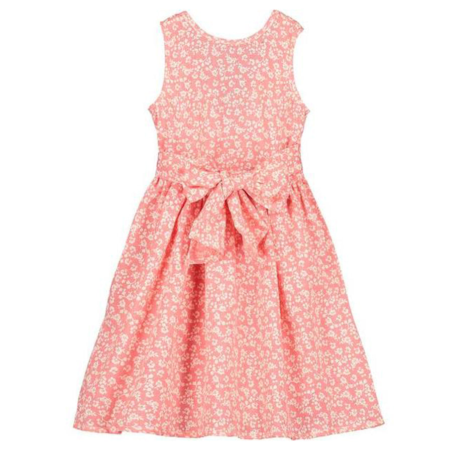 Jewel Dress Coral-Vignette-Joanna's Cuties