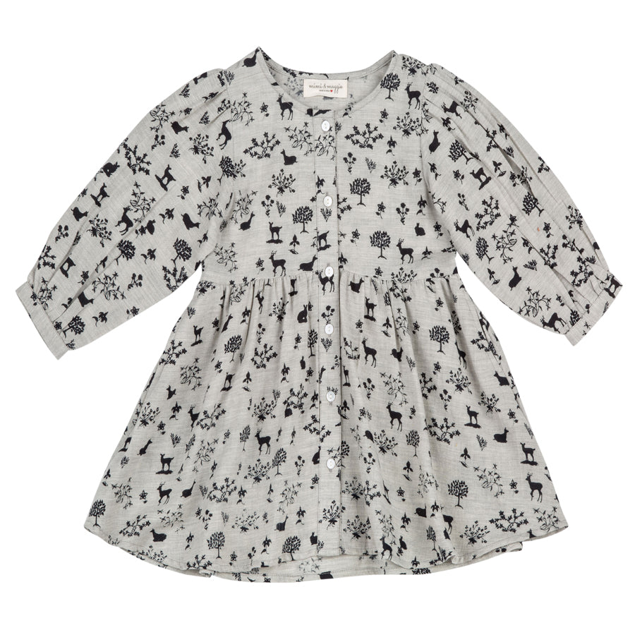 River Dress Print - Mimi & Maggie - joannas-cuties