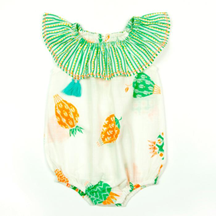 Romper Lulu Hot - Mint, Almirah - Joanna's Cuties
