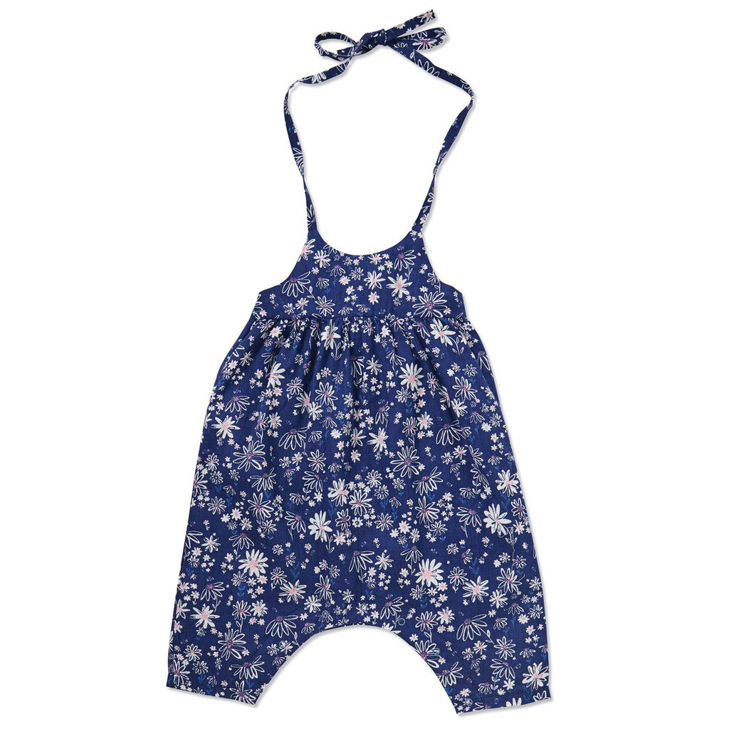 Romper w/Bow Back - Daisies - Angel Dear - joannas-cuties