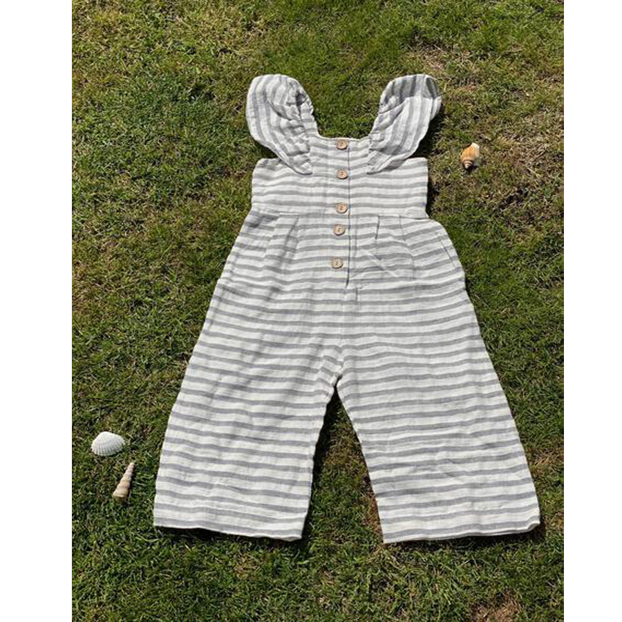 Rosie Jumpsuit In Grey-Vignette-Joanna's Cuties